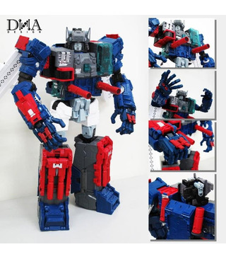 Transformers DNA Design DK-02 Fortress Maximus Upgrade