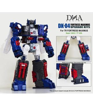 Transformers DNA Design DK-04 Fortress Maximus Foot