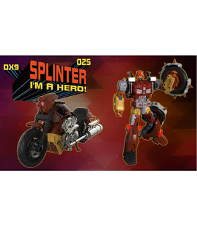 Transformers DX9 D02S Splinter MIB