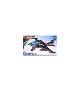 ENLIGHTEN Building Blocks Bricks Military Fighter Plane 0275