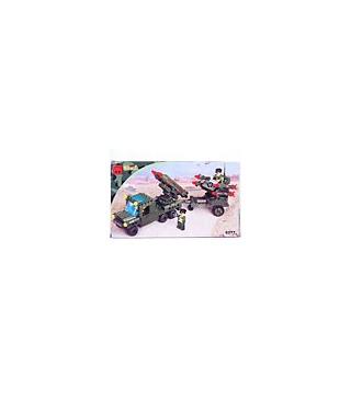 ENLIGHTEN Building Blocks Bricks Missile Car 0277