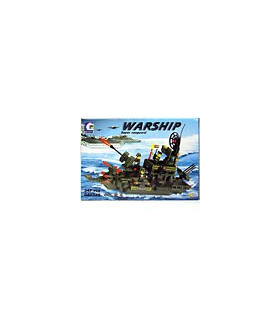 ENLIGHTEN Building Blocks Warship LEGO Compatible [SOLD OUT]