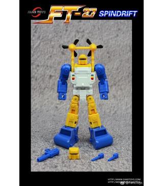 Transformers Fans Toys FT-27 Spindrift Seaspray