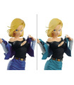Banpresto Dragon Ball Z Glitter & Glamours Android 18 Set