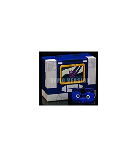 Transformers iGear Autoscout Cassette Set Blue Version [SOLD OUT]
