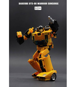 Transformers BadCube OTS-08 Sunsurge