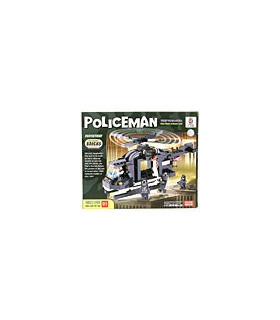 LWDRAGON Building Blocks POLICEMAN Special Duties Unit 1913601