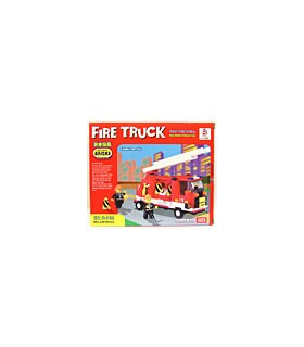 LWDRAGON Building Blocks Bricks FIRE TRUCK 19122