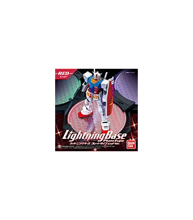 Gundam Model Kit Lightning Base Plate Type Red Ver.
