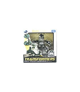 Disney Label Transformers Donald Duck Bumblebee Monochrome