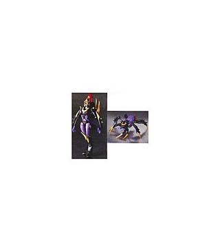 Japanese Transformers Animated - TA09 Black Arachnia [PREORDER]