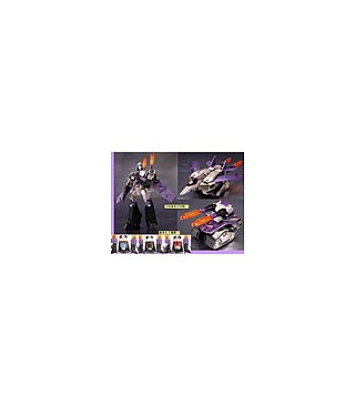 Japanese Transformers Animated - TA13 Blitzwing [PREORDER]