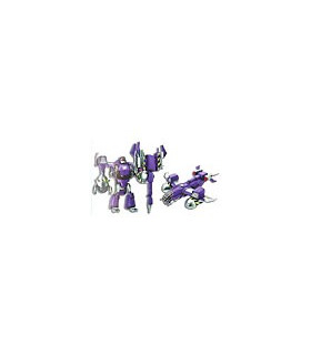 Japanese Transformers Animated - TA15 Decepticon Ragknights