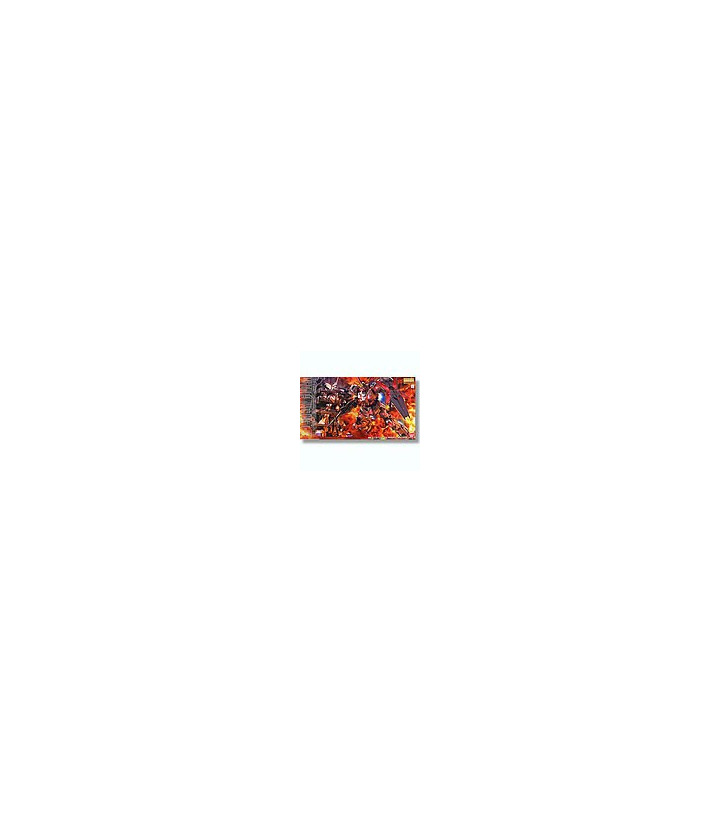 Gundam Master Grade 1/100 MG Unicorn HD Color + MS Cage