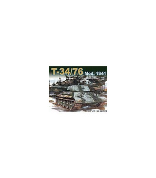1:35 Dragon Tank Model Kits T-34/76 Mod 1941 6205