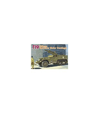1:35 Dragon T19 105mm Howitzer Motor Carriage Smart kit 6496