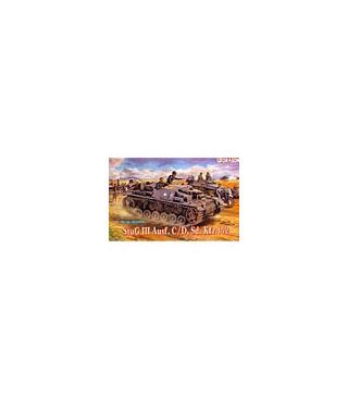 1:35 Dragon Tank Model Kits StuG III Ausf C/D Sd Kfz 142 6009