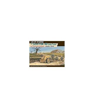1:35 Dragon 7.5cm PaK 40 w/ Fallschirmjager Anzio 1944 6250
