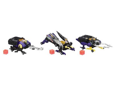 Transformers Platinum Edition Insecticons Three Pack