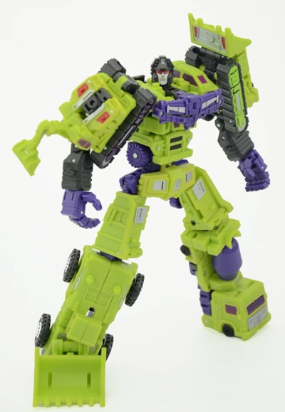 Transformers War in Pocket X07 X-12 Hulkie Set of 6 Figures