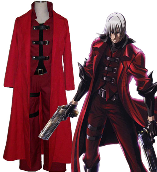 Devil May Cry Ver 4 Dante Halloween Cosplay Costume