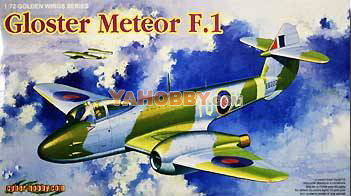 1:72 Cyber Hobby Gloster Meteor F.I ~ Golden Wings Series 5084