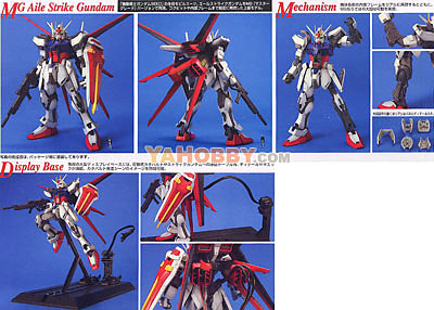 Gundam Master Grade Model Kit - Strike Gundam w/Aile Striker