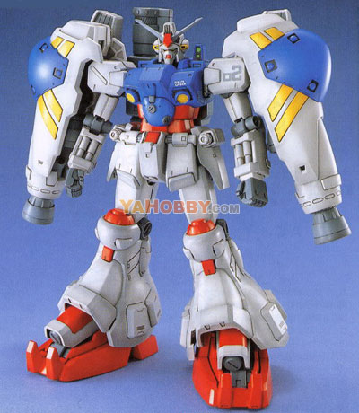 Gundam Master Grade 1/100 Model Kit RX-78 GP02A
