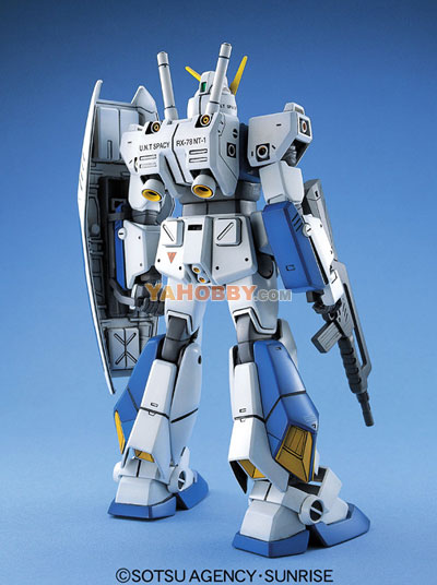 Gundam Master Grade Wing Model Kit RX-78NT-1 Alex