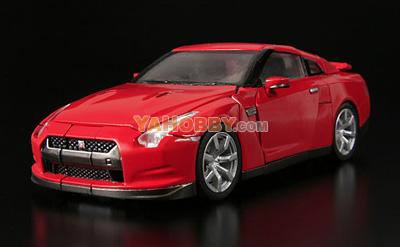 Transformers Alt Alternity NISSAN GT-R R35 Optimus Prime CONVOY Red