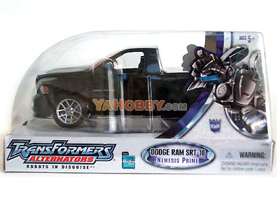 Transformers Alternator NEMESIS PRIME Dodge Ram SRT-10 SDCC