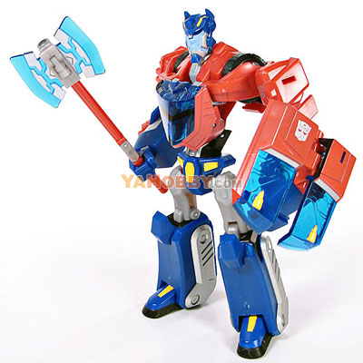 Transformers Animated Deluxe Cybertron Mode Optimus Prime