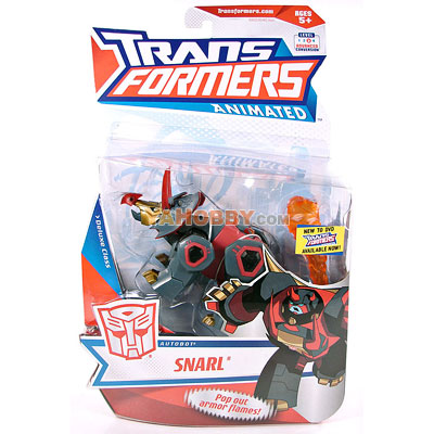 Hasbro Transformers Animated Deluxe Snarl