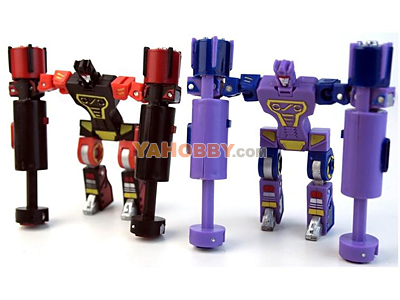 BTS Transformers BTS-05 Minions Tremor & Frequenzy [PREORDER]