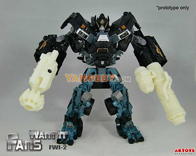 Transformers FWI-02 Cannon Upgrade for DOTM Leader Ironhide [PREORDER]