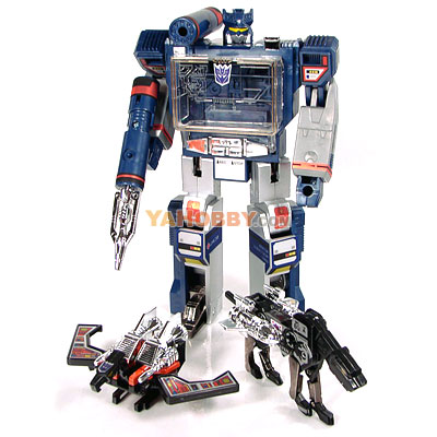 Transformers G1 TRU Reissue Soundwave Laserbeak Ravage Exclusive