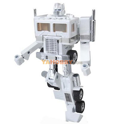 Transformers Music Label White Convoy iPod Docking Bay with Speakers