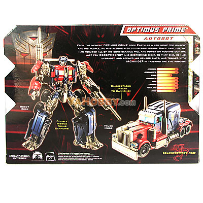 Transformers 2009 Movie 2 ROTF Voyager Optimus Prime