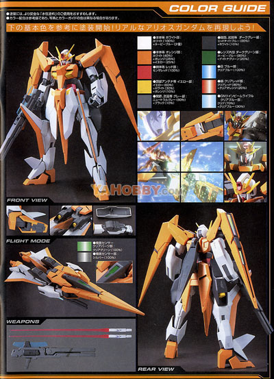 Gundam 00 1/100 Model Kit GN-007 Arios Gundam