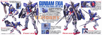 Gundam Master Grade 1/100 Model Kit MG Gundam Exia