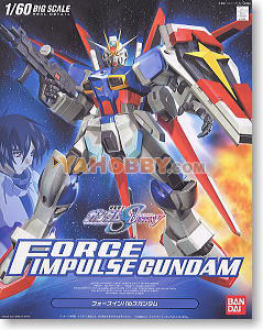 Gundam Seed Destiny 1/60 Model Kit Force Impulse Gundam