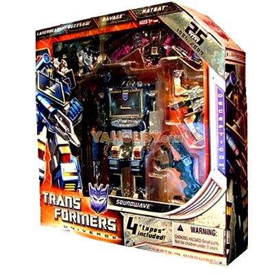 Transformers SDCC 2009 Exclusive Soundwave 25th Anniversary Special