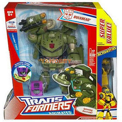 Transformers Animated Leader Bulkhead with Activator Bumblebee