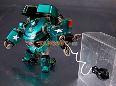 Japanese Transformers Animated - TA03 Ironhide Bulkhead Loose