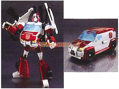 Japanese Transformers Animated - TA04 / TA-04 Ratchet