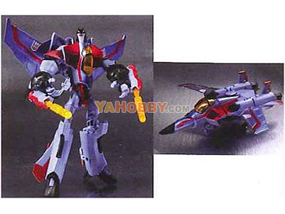 Japanese Transformers Animated - TA07 Starscream