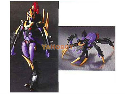 Japanese Transformers Animated - TA09 Black Arachnia