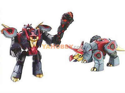 Japanese Transformers Animated - TA18  / TA-18 Sunaru (Snarl)