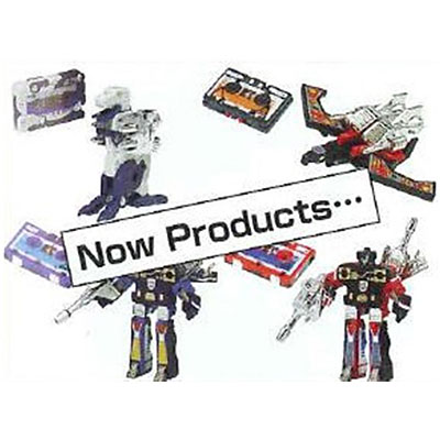 Takara Tomy Transformers G1 Encore 19 Cassette Big Mission 3 Set
