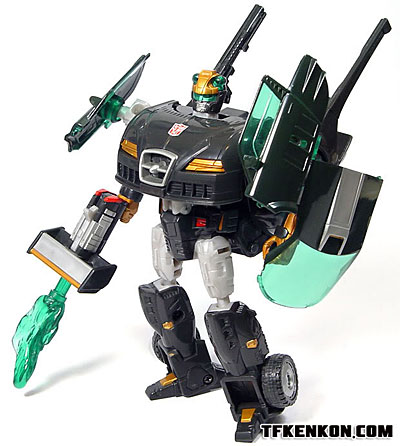 Mocom Transformers Galaxy Force Autovolt Crosswise GC-17 Korean Ver